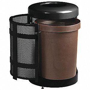 CONTAINER WASTE 31GAL  BLK