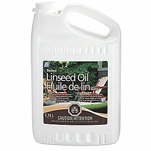 OIL LINSEED DOUBLE BOILED 4L