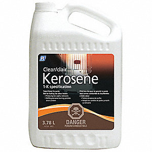 KEROSENE CLEAR PLASTIC BOTTLE 4L