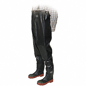 WADERS CHEST BLACK ST-T/P SZ.12