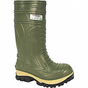 THERMIC PU BOOTS CSA (GREEN) SZ 7