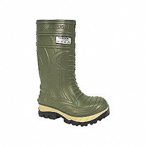 THERMIC PU BOOTS CSA (GREEN) SZ 8.5