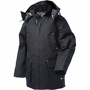 DOWN FILLED DUCK PARKA