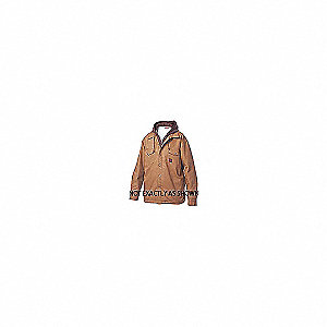 SHERPA LINED HOODED DUCK SHIRT
