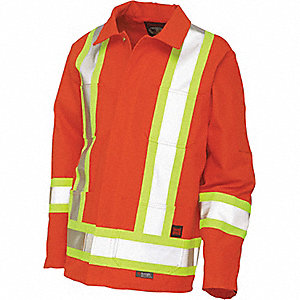 JACKET WORK TRAFFIC UNLINED CSA