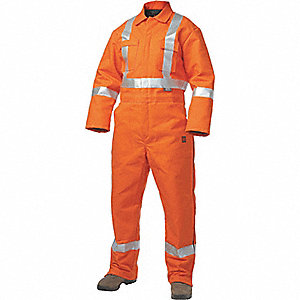 CSA TRAFFIC INSULATED COVERALLS