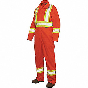 CSA TRAFFIC UNLINED COVERALL SML