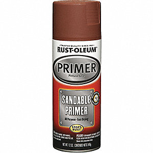 RED SANDABLE PRIMER 11 OZ.