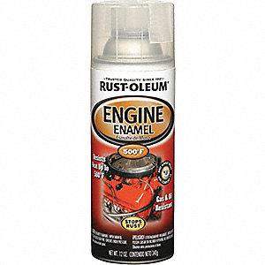 ENGINE ENAMEL CLEAR