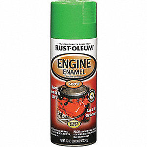 ENGINE ENAMEL GRABBER GREEN