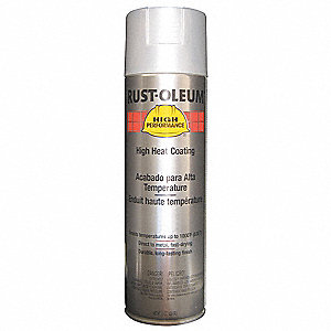 PAINT ALUM HIGH TEMP 15OZ AEROSOL