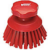 ROUND SCRUB BRUSH RED