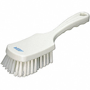 SHORT HANDLED BRUSH WH