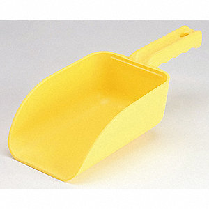 SCOOP HAND SMALL 32 OZ YELLOW