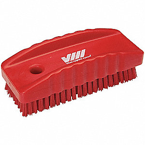 NAIL BRUSH RED