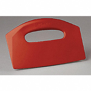 POLYPROPYLENE BENCH SCRAPER RED