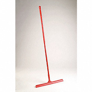 SQUEEGEE 24 IN W/ 51 IN HANDLE RED