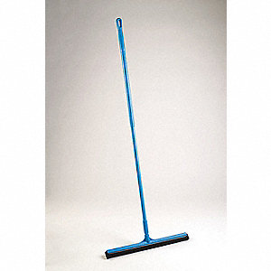 SQUEEGEE 28 IN W/ 51 IN HANDLE BLUE