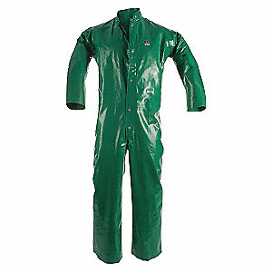 COVERALLS PVC/POLYESTER FR CHEM.RES