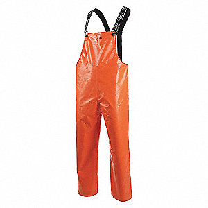 PANTS RAIN PVC/NY FR ORANGE