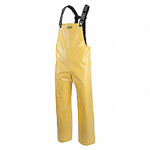 PANTS RAIN PVC/NY YELLOW