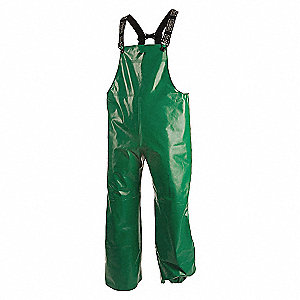 PANTS GREEN PVC/POLYESTER SINGLE BI