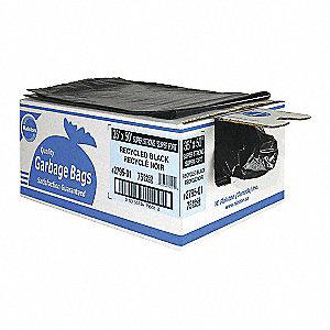 BAGS GARBAGE REG BK 20X22 500/CA