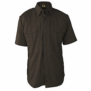 Tactical Shirt,Sheriff Brown,2XL Reg