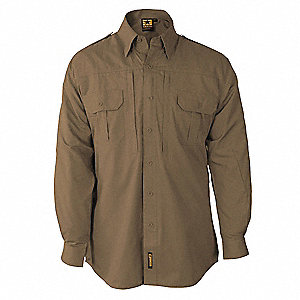 Tactical Shirt, Coyote, Size XS Reg
