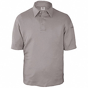 Tactical Polo,Gray,Size M