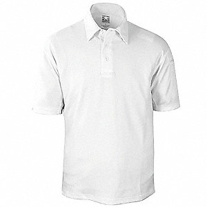Tactical Polo,White,Size M