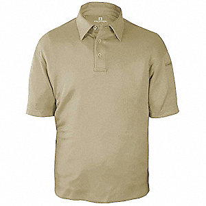 Tactical Polo, Silver Tan, Size 2XL
