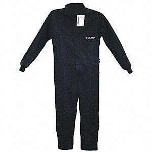 COVERALLS 11 CAL NAVY BLUE 2X LARGE