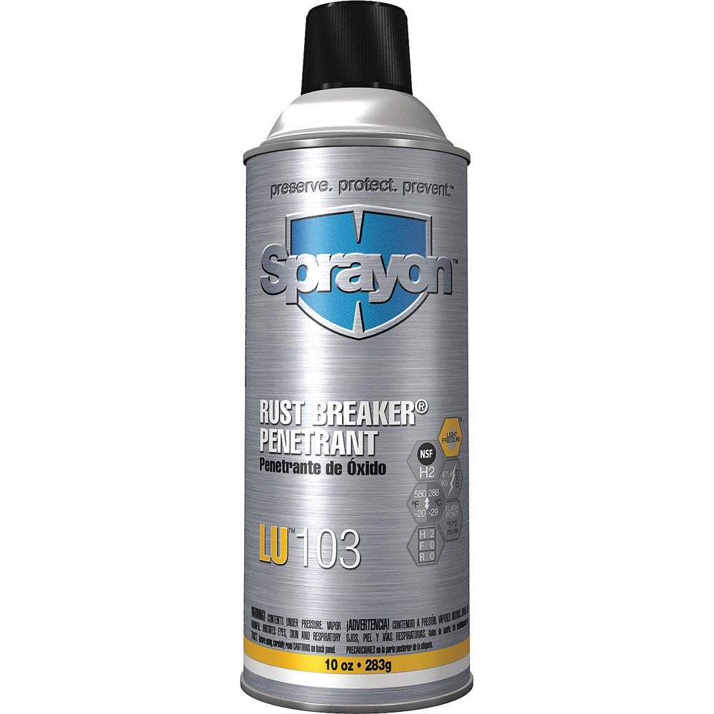 SPRAYON Petroleum-Based Penetrant, -20°F to 550°F, 10 oz. Aerosol ...