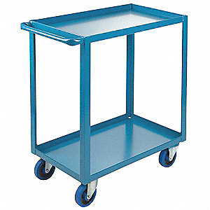 "Welded Utility Cart,1200 lbs,30""x18""x36"""