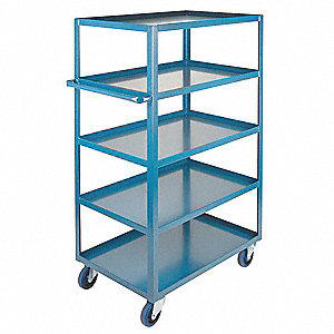 "Welded Utility Cart,1200 lbs,36""x24""x61"""