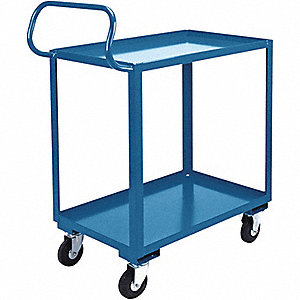 "Welded Utility Cart,800 lbs.,38""x26""x37"""