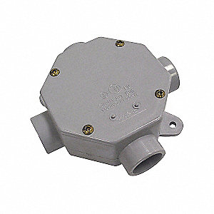 BOX OCTAGONAL 1INHUB 4X2IN