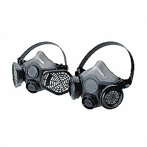 RESPIRATOR XCEL W/VOICEMITTER MED/L