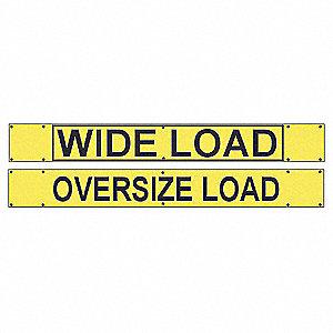 SIGN WIDE LOAD/OVERSIZE LOAD