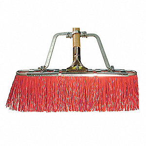 "Synthetic Push Broom, 17"" Sweep Face"