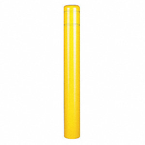 Post Sleeve,8-7/8 In Dia.,72 In H,Yellow