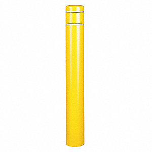 Post Sleeve,10-7/8 In Dia.,60In H,Yellow