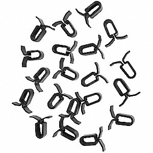 Ceiling Tile Panel Clips, 20 PK