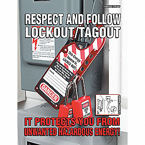 LOCKOUT/TAGOUT POSTER 11X17