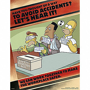 SIMPSONS ACC PREV POSTER 17X22