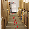 TAPE FOOT PRINT RED MIGHTYLINE