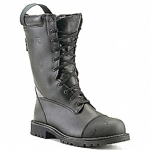 BOOTS FIRE MEN SZ 5.5 MEDIUM ZIPPER