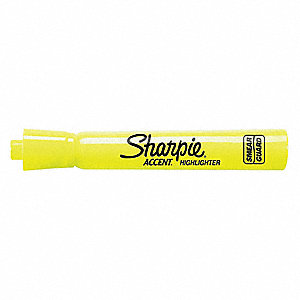 HIGHLITER SHARPIE ACCENT YELLOW