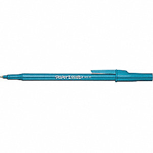 STICK BALLPOINT PEN,BLUE,12/BX
